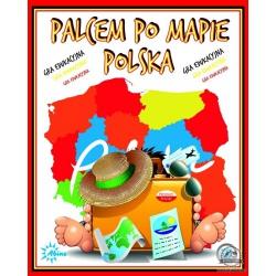 PALCEM PO MAPIE POLSKA gra edukacyjna