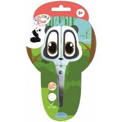 PANDA nożyczki z metalowym ostrzem Colors Cut