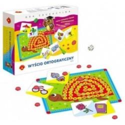 ORTOGRAFICZNY WYŚCIG duży zestaw gra edukacyjna