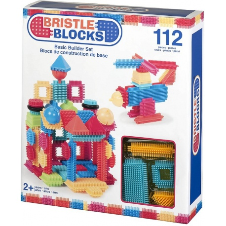 ELASTYCZNE KLOCKI 112 el. Basic Builder Box