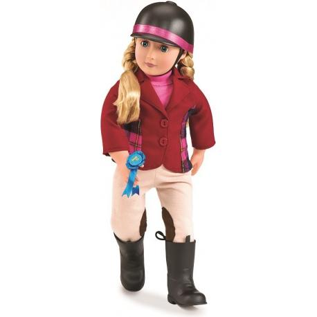LILLY ANNA lalka dżokejka z akcesoriami
