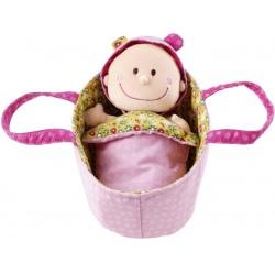 CHLOE lalka szmacianka w nosidełku