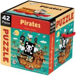 PIRACI puzzle tekturowe 42 el.