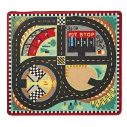 TOR WYŚCIGOWY dywanik do zabawy + 4 wyścigówki
