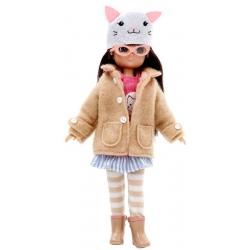 OPIEKUNKA ZWIERZĄT lalka 18 cm