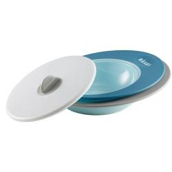 TALERZYK + MISECZKA z pokrywką Ellipse blue