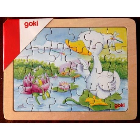 KACZUSZKA drewniane puzzle