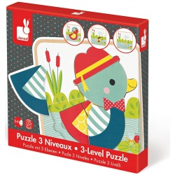 KACZUSZKI puzzle warstwowe