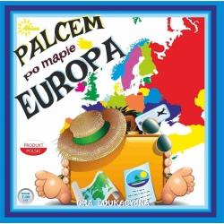 PALCEM PO MAPIE EUROPA gra edukacyjna