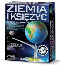 ZIEMIA I KSIĘŻYC zestaw naukowy