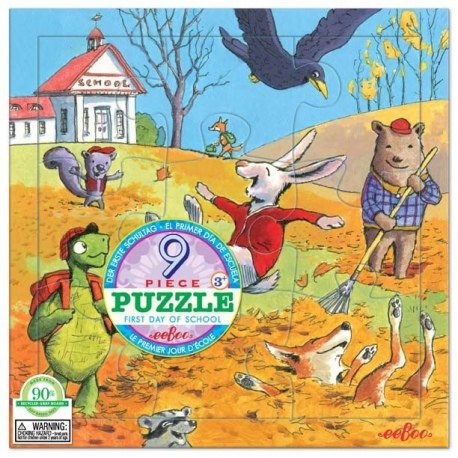 JESIEŃ puzzle tekturowe dla najmłodszych