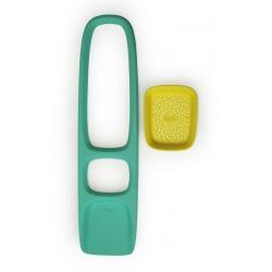 SCOPPI łopatka z sitkiem Lagoon Green + Mellow Yellow