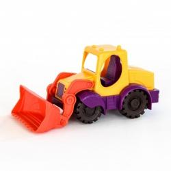 ŻÓŁTA KOPARKA zabawka do piasku