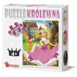 KRÓLEWNA puzzle tekturowe 48 el.
