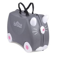 KOTEK BENNY jeżdżąca walizka szara