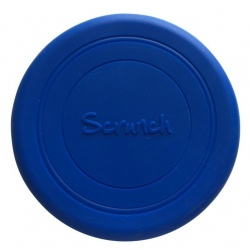 NIEBIESKIE silikonowe zwijane frisbee