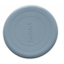 BŁĘKITNE silikonowe zwijane frisbee