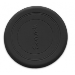 CZARNE silikonowe zwijane frisbee