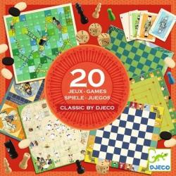 CLASSIC BOX zestaw gier 20 w 1