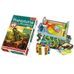 PREHISTORIA I DINOZAURY gra edukacyjna