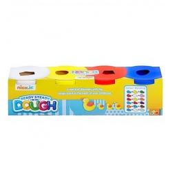 MASA PLASTYCZNA 4 kolory podstawowe