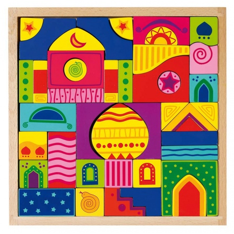 Drewniane klocki 1001 NOCY mozaika