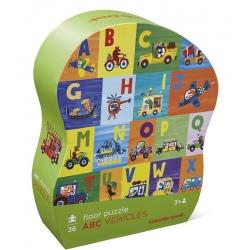 ALFABET puzzle podłogowe 36 el.