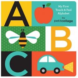ABC książeczka dotykowa nauka literek
