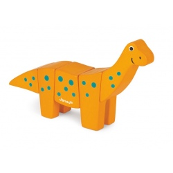 BRACHIOZAUR drewniany dinozaur do złożenia