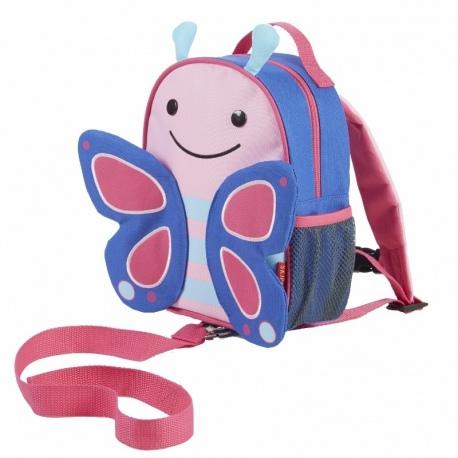 MOTYLEK plecak ze smyczą Baby Zoo