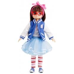 MIŁOŚNICZKA MUZYKI lalka Rockabilly 18 cm