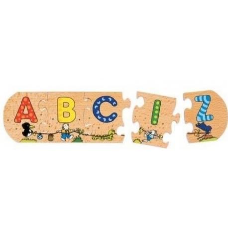 ALFABET układanka do nauki literek
