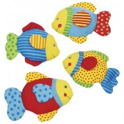 Szeleszcząca rybka z materiału