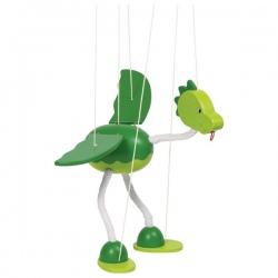 DINOZAUR drewniana marionetka