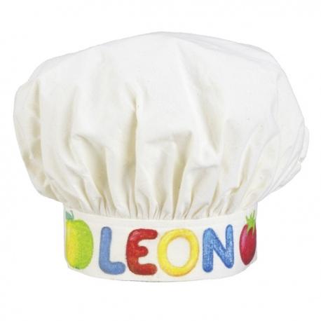 Bawełniana czapka kucharska do kolorowania