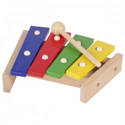 KSYLOFON kolorowe drewniane cymbałki