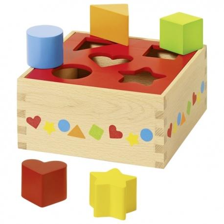 NAUKA KSZTAŁTÓW drewniany sorter