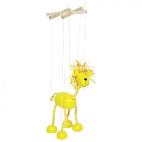 LEW drewniana marionetka