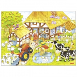 NA WSI drewniane puzzle