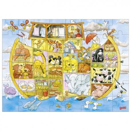 ARKA NOEGO drewniane puzzle