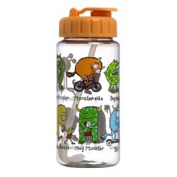 POTWORKI bidon butelka z chowaną słomką