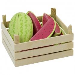 ARBUZ drewniany owoc