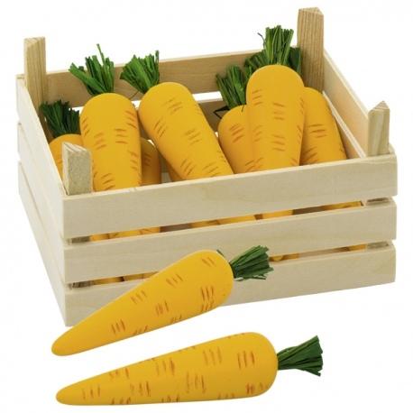 MARCHEWKA drewniane warzywo