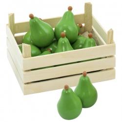 GRUSZKA drewniany owoc