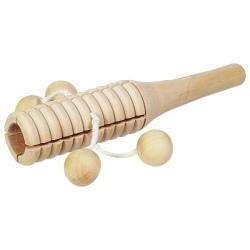 TON BLOK drewniany instrument z kuleczkami