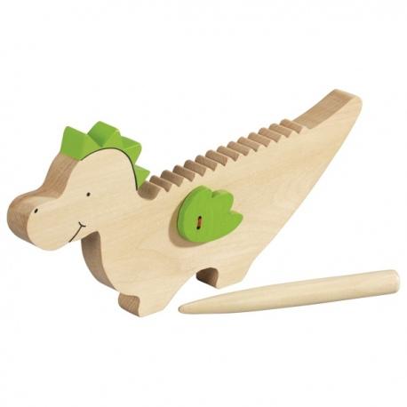 SMOK drewniany instrument guiro
