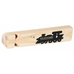 LOKOMOTYWA drewniany gwizdek