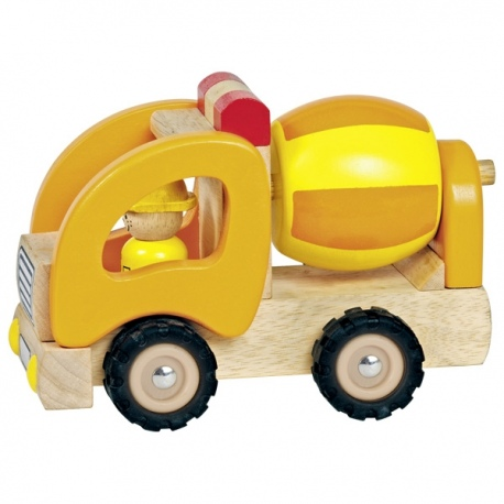 BETONIARKA drewniany samochód
