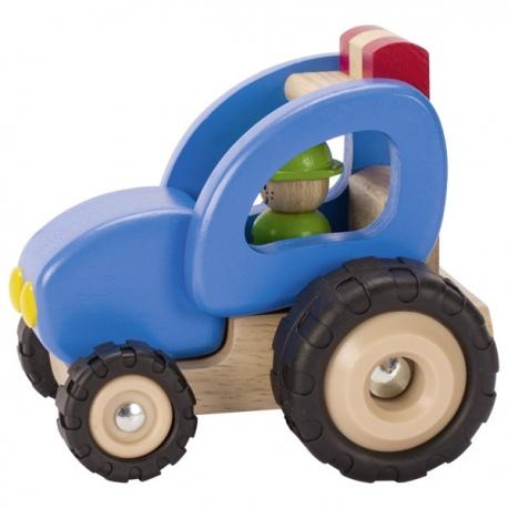 TRAKTOR drewniany pojazd