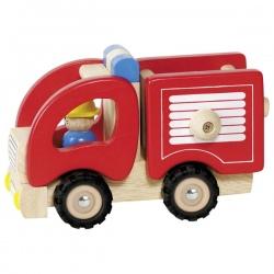 STRAŻ POŻARNA drewniany wóz